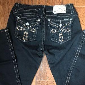 Black MissMe Skinny Jeans